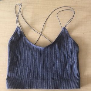 Urban outfitters Cindy Sparkle Seamless crop top